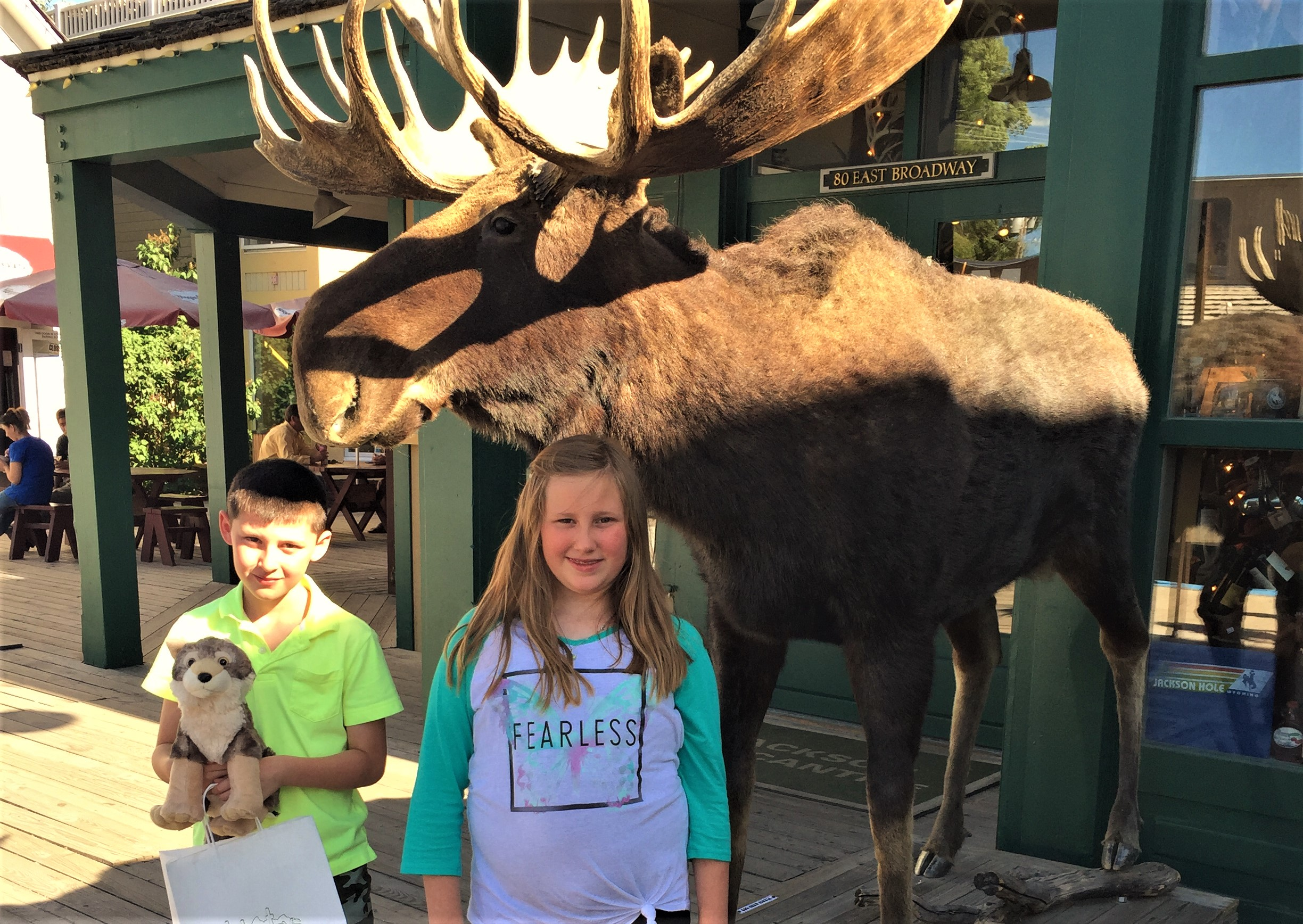 A Day In Jackson Hole, Wyoming with Kids