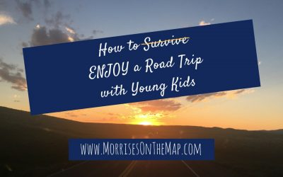 How to ENJOY a Road Trip with Young Kids