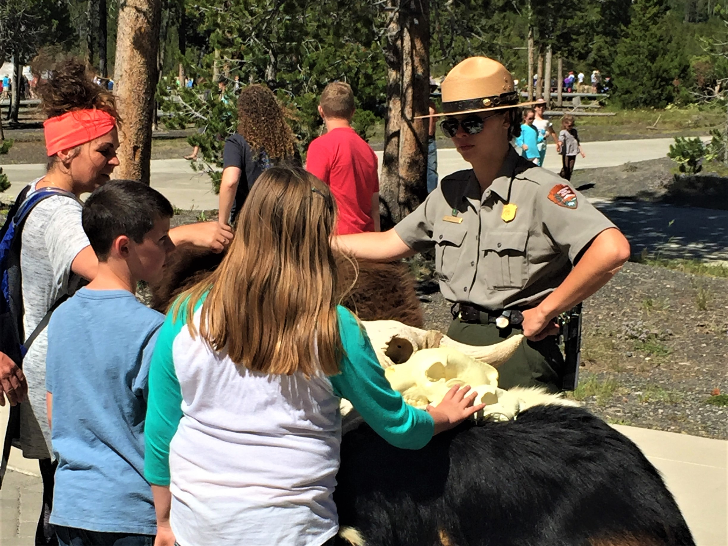 Wildlife Talk at Yellowstone NP