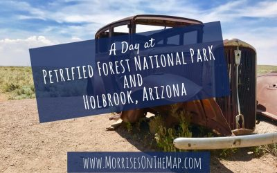 A Day In Petrified Forest National Park and Holbrook, Arizona