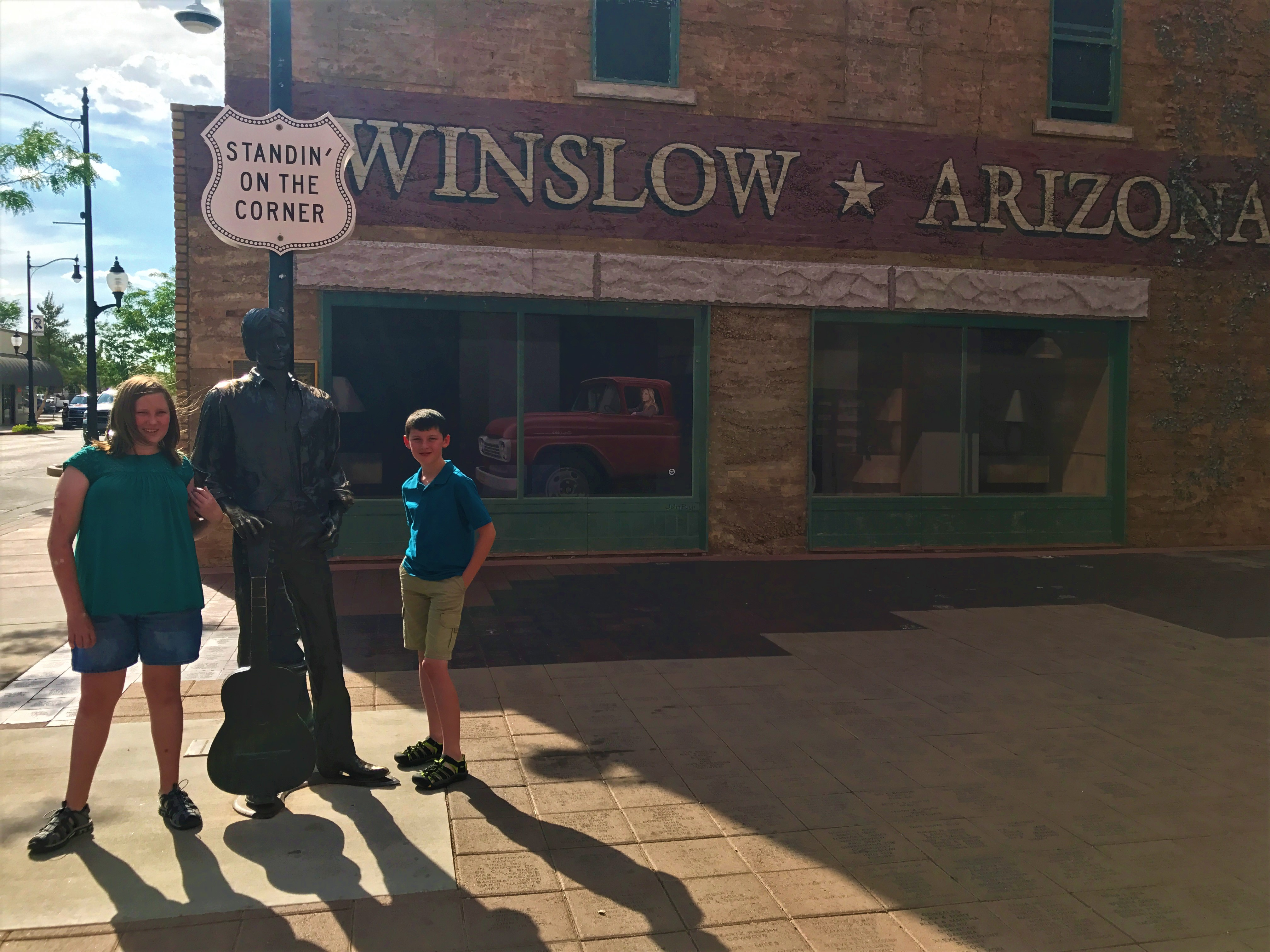 Standin' On a Corner In Winslow, Arizona