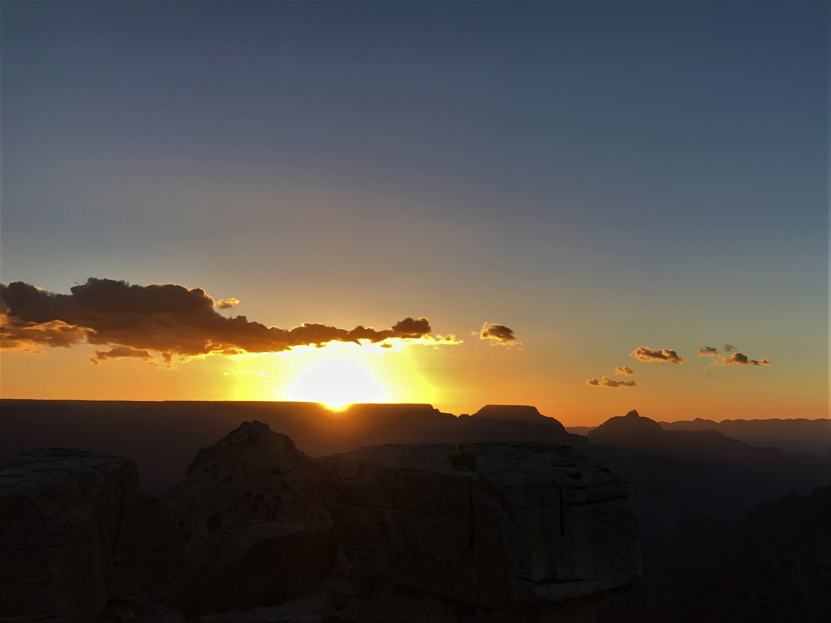 Mather Point Sunrise